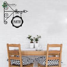 Classic Hang Iron Scroll Pattern Wall Sticker Kitchen Pantry Decal Traditional Pantry Sign Wall Mural Home Art Mural Diy Wall Decal Quotes Wall Decal Sale From Onlinegame 12 48 Dhgate Com