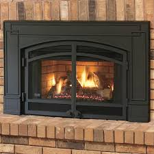 58 rustic natural gas fireplace insert