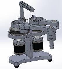 SCARyllA: Dual (parallel) arm SCARA laser engraver build