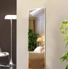 punch frameless mirror living room