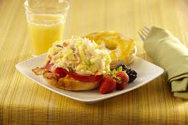 Crab and Seafood Bagel Melt - Recipe ...