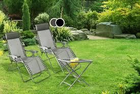reclining zero gravity garden loungers