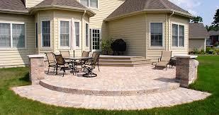 paver patios ricci s landscape management