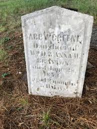 Abby Greene Brayton (1852-1852) - Find A Grave Memorial