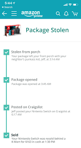 track packages upon delivery theft ...