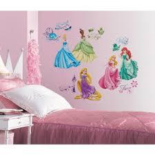 Disney Princess Royal Debut Peel And Stick Wall Decals Walmart Com Walmart Com