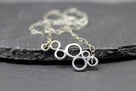 infinity pendant circle necklace love