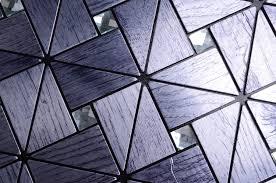 silver mirror glass mosaic