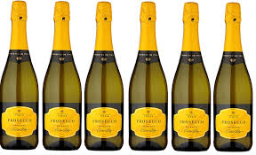 six bottles of prosecco from asda