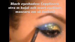 beauty 70s disco makeup á la marisel