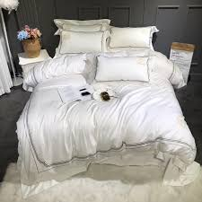 white bed set queen bedding sets