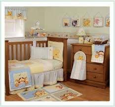 winnie the pooh nursery set baby boy