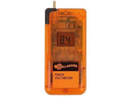 Buy Gallagher Dvm Digital Voltmeter Fence Tester For Electric Fence Valley Farm Supply Electric Fencing Grazing Supplies Livestock Scales Pasture Management Solutions