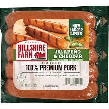 jalapeno cheddar smoked sausage links