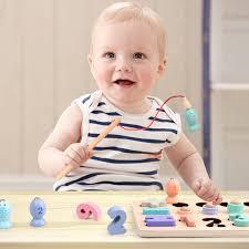 Đồ chơi trí tuệ cho bé phát triển trí não giai đoạn đầu đời