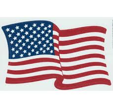 Made In Usa American 3 5 X 5 Wavy Flag Decal Stickers Usa 3 5 Inch X 5 Inch Self Adhesive Vinyl Waterproof Waving Sticker Decals