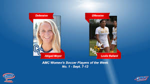 AMC Women's Soccer Players of the Week - No. 1 (Sept. 14) - American  Midwest Conference