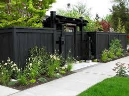 Awesome 10 Black Garden Fences Design For Black Garden Decoredo