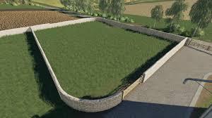 Wooden Gates Fences And Stone Walls V1 0 0 0 Fs19 Farming Simulator 19 Mod Fs19 Mod