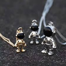 fashion necklace personality spaceman