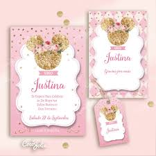 Kit Minnie Retro Vintage Imprimibles Personalizables Minnie