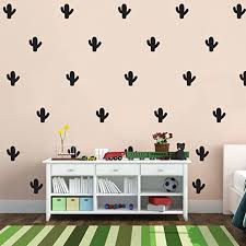 Amazon Com Set Of 20 Cactus Wall Decals 1 5 X 1 5 Each Bedroom Wall Art Vinyl Stickers Apartment Vinyl Decal Kids Room Vinyl Wall Stickers Wild West