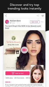 youcam beauty makeup app for