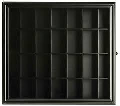 3 5x19 black decorative wooden shelf