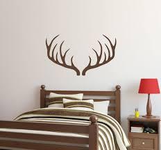 Deer Antler Wall Decal Inspirational Hunting Vinyl Office Baby Room Mural Decor