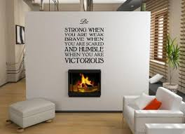 Jc Design Be Strong When You Are Weak Huge Wall Sticker Quote Wall Stickers Store Uk Shop With Wall Stickers Wall Decals Product Decal Decor Wall Sticker