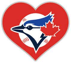 Toronto Blue Jays Heart Mlb Baseball Car Bumper Sticker Decal Sizes Ebay