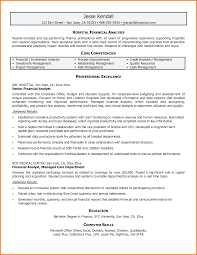 Financial Analyst Resume Objective Perfect Senior Financial Analyst Resume Summary Also Senior 15