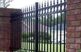 metal fence styles. Decorative Metal Fence: Fence Styles M