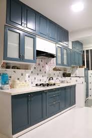 Kitchen Design For Apartments Mesmerizing 48 Bhk Apartment Of Mr Santosh Nambiath Bangalore Builtin Kitchens