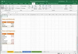 Etsy Payment Account Fee Summary Excel Template Monthly Statement Csv File Totals