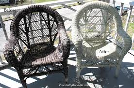 painting wicker furnitureSpray Painting Wicker  Potentially Beautiful