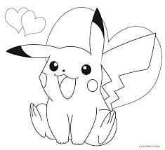Lion color by number printable sheet. Pikachu Coloring Pages Cool2bkids