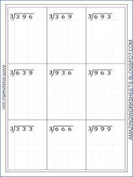 3 Digit Division Worksheets Long Division Worksheets On