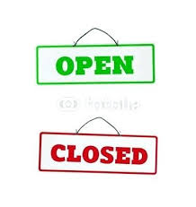 Closed Signs Template Close The Door Sign Actitudes Info