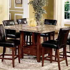 breathtaking dining room furniture fiberglass slab varnished rose wood stainless steel counter pedestal hexagon medium brown