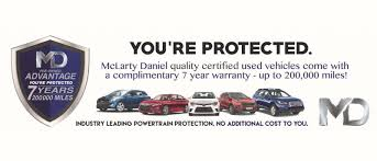 mclarty daniel pre owned vehicle warranty