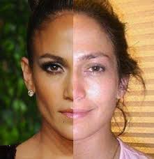 grammar jennifer lopez 29 celebrities with and without makeup the hollywood gossip