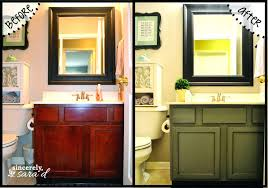 Painting bathroom vanity before and after Best Tips Chalk Paint Bathroom Vanity Painting Bathroom Vanity Before And After Vanities Gallery Images Cabinets Chalk Paint Aimnetco Chalk Paint Bathroom Vanity Gray Painted Bathroom Cabinet Paint For