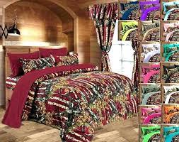 Camo Bed Sets Black Camouflage Comforter Sham Set Realtree Camo Bed ...