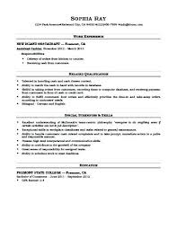 Sample Resume Of Cashier Customer Service Best Of Resume Example Cashier Resume Examples For Cashiers Cashier Template