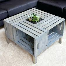 diy wooden crate coffee table apple wood box