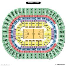 Honda Civic Center Seating Chart Disclosed Anaheim Pond Seating Chart Honda Center Ducks