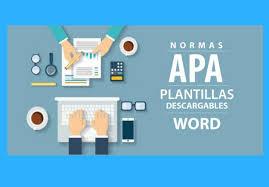 Normas Apa Plantilla Descargable Word Puro20