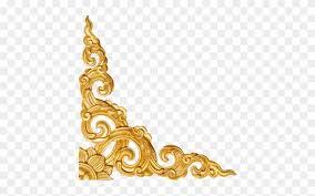 Photoshop Wedding Background Designs Download Gold Corner