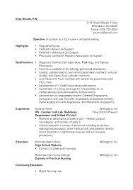 Sample Icu Nurse Resume Resume Nurse Example Neuro Icu Nurse Resume ...